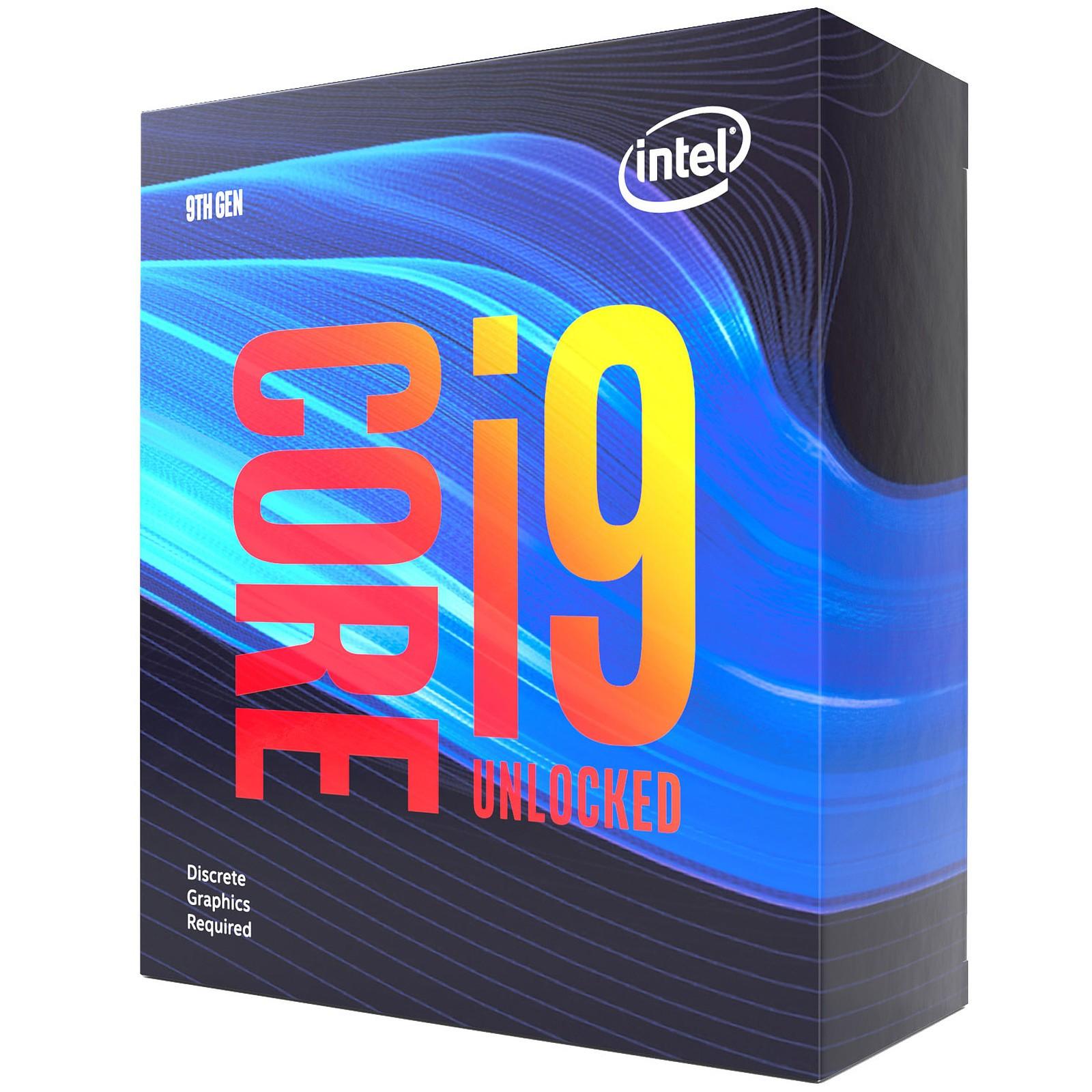 Processeur Intel® Core™ i9-9900KF 8 Cœurs 3,6GHz  16MO Cache 95 Watt BOX